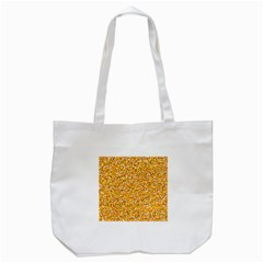 Candy Corn Tote Bag (white) by Valentinaart