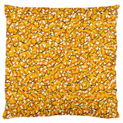 Candy Corn Standard Flano Cushion Case (one Side) by Valentinaart