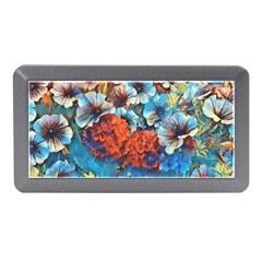 Dreamy Floral 3 Memory Card Reader (mini) by MoreColorsinLife