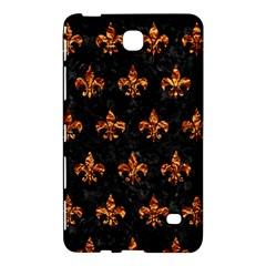 Royal1 Black Marble & Copper Foil (r) Samsung Galaxy Tab 4 (7 ) Hardshell Case