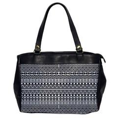 Aztec Influence Pattern Office Handbags by ValentinaDesign