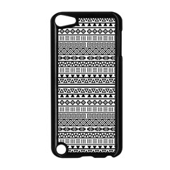 Aztec Influence Pattern Apple Ipod Touch 5 Case (black) by ValentinaDesign