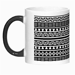 Aztec Influence Pattern Morph Mugs by ValentinaDesign