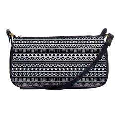 Aztec Influence Pattern Shoulder Clutch Bags by ValentinaDesign