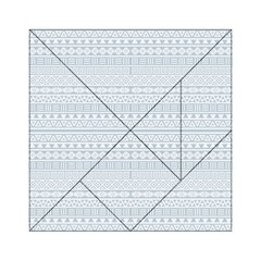 Aztec Influence Pattern Acrylic Tangram Puzzle (6  X 6 ) by ValentinaDesign