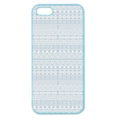 Aztec Influence Pattern Apple Seamless Iphone 5 Case (color) by ValentinaDesign