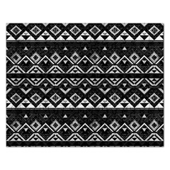 Aztec Influence Pattern Rectangular Jigsaw Puzzl by ValentinaDesign