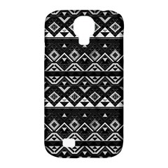 Aztec Influence Pattern Samsung Galaxy S4 Classic Hardshell Case (pc+silicone) by ValentinaDesign