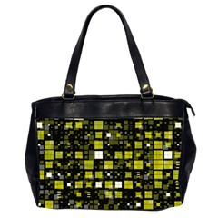 Small Geo Fun F Office Handbags (2 Sides)  by MoreColorsinLife