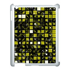 Small Geo Fun F Apple Ipad 3/4 Case (white) by MoreColorsinLife
