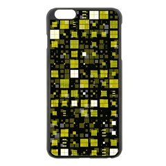 Small Geo Fun F Apple Iphone 6 Plus/6s Plus Black Enamel Case by MoreColorsinLife