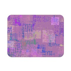Abstract Art Double Sided Flano Blanket (mini)  by ValentinaDesign