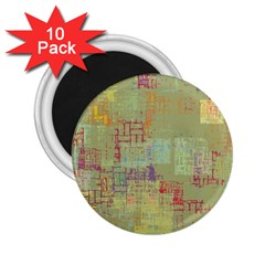 Abstract Art 2 25  Magnets (10 Pack)  by ValentinaDesign