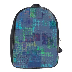 Abstract Art School Bag (xl) by ValentinaDesign