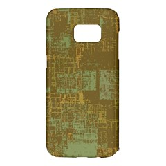 Abstract Art Samsung Galaxy S7 Edge Hardshell Case by ValentinaDesign