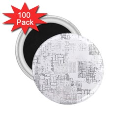Abstract Art 2 25  Magnets (100 Pack)  by ValentinaDesign