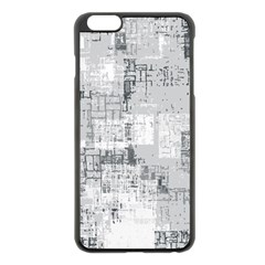 Abstract Art Apple Iphone 6 Plus/6s Plus Black Enamel Case by ValentinaDesign
