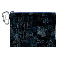 Abstract Art Canvas Cosmetic Bag (xxl) by ValentinaDesign