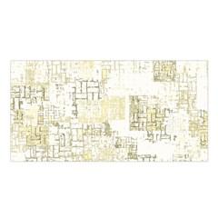 Abstract Art Satin Shawl by ValentinaDesign