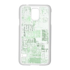 Abstract Art Samsung Galaxy S5 Case (white) by ValentinaDesign