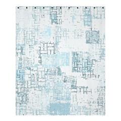 Abstract Art Shower Curtain 60  X 72  (medium)  by ValentinaDesign