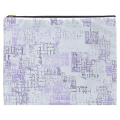 Abstract Art Cosmetic Bag (xxxl)  by ValentinaDesign