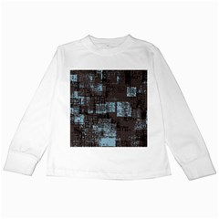 Abstract Art Kids Long Sleeve T Shirts by ValentinaDesign