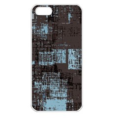 Abstract Art Apple Iphone 5 Seamless Case (white) by ValentinaDesign