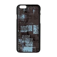 Abstract Art Apple Iphone 6/6s Black Enamel Case by ValentinaDesign