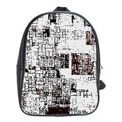 Abstract Art School Bag (xl) by ValentinaDesign