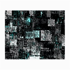 Abstract Art Small Glasses Cloth by ValentinaDesign