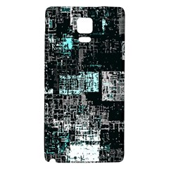 Abstract Art Galaxy Note 4 Back Case by ValentinaDesign