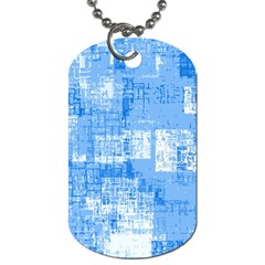 Abstract Art Dog Tag (two Sides) by ValentinaDesign