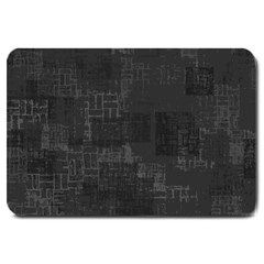 Abstract Art Large Doormat  by ValentinaDesign