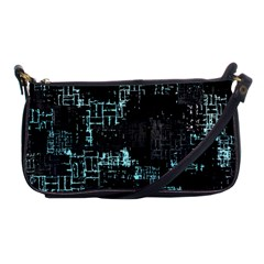 Abstract Art Shoulder Clutch Bags by ValentinaDesign