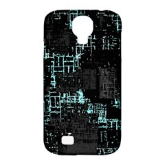 Abstract Art Samsung Galaxy S4 Classic Hardshell Case (pc+silicone) by ValentinaDesign