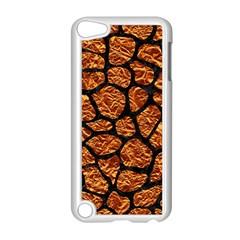 Skin1 Black Marble & Copper Foil Apple Ipod Touch 5 Case (white) by trendistuff
