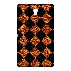 Square2 Black Marble & Copper Foilsquare2 Black Marble & Copper Foil Samsung Galaxy Tab S (8 4 ) Hardshell Case  by trendistuff