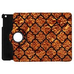 Tile1 Black Marble & Copper Foil (r) Apple Ipad Mini Flip 360 Case by trendistuff
