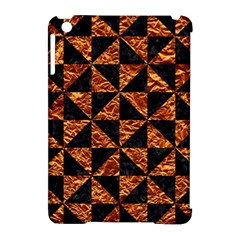 Triangle1 Black Marble & Copper Foil Apple Ipad Mini Hardshell Case (compatible With Smart Cover) by trendistuff