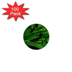 Vivid Tropical Design 1  Mini Buttons (100 Pack)  by dflcprints