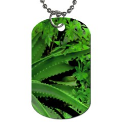 Vivid Tropical Design Dog Tag (one Side) by dflcprints