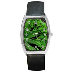 Vivid Tropical Design Barrel Style Metal Watch by dflcprints