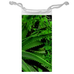 Vivid Tropical Design Jewelry Bag by dflcprints