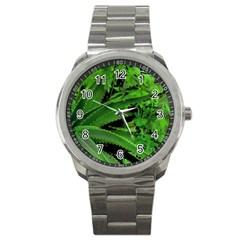 Vivid Tropical Design Sport Metal Watch by dflcprints