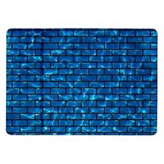 Brick1 Black Marble & Deep Blue Water (r) Samsung Galaxy Tab 10 1  P7500 Flip Case by trendistuff