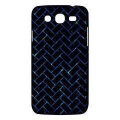Brick2 Black Marble & Deep Blue Water Samsung Galaxy Mega 5 8 I9152 Hardshell Case  by trendistuff