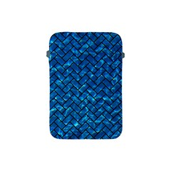 Brick2 Black Marble & Deep Blue Water (r) Apple Ipad Mini Protective Soft Cases by trendistuff