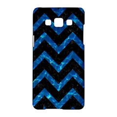 Chevron9 Black Marble & Deep Blue Water Samsung Galaxy A5 Hardshell Case  by trendistuff