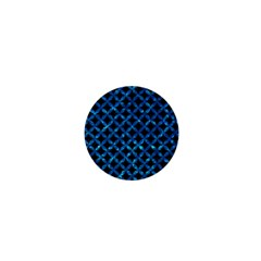 Circles3 Black Marble & Deep Blue Water 1  Mini Buttons by trendistuff